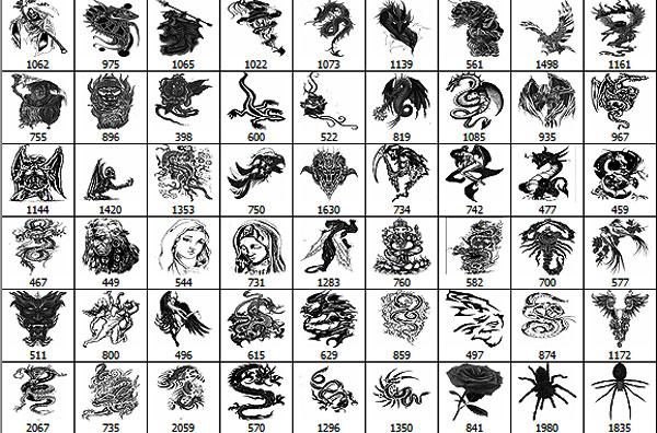 Mix-tattoo-brushes--by-DiZa-2