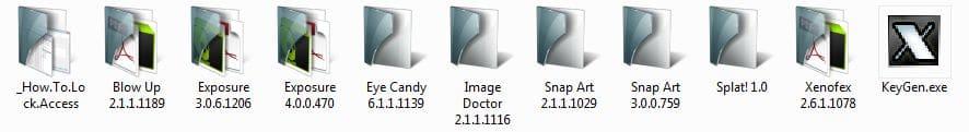 alien skin список файлов