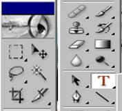 Панель инструментов в фотошоп